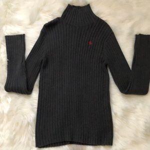 Abercrombie & Fitch Grey Turtleneck Sweater